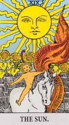 tarotkort solen